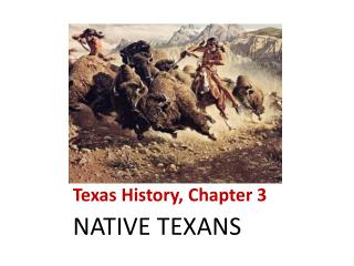 Texas History, Chapter 3