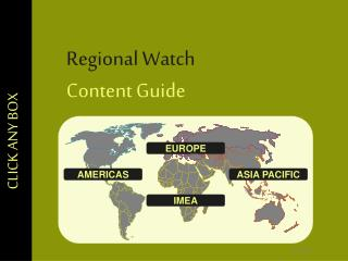 Regional Watch  Content Guide
