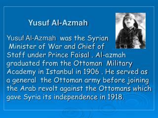 Yusuf Al-Azmah