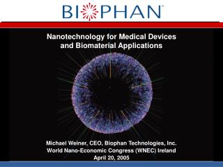 Nanotechnology for Medical Devices and Biomaterial Applications