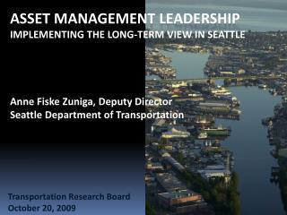 Transportation Research Board October 20, 2009