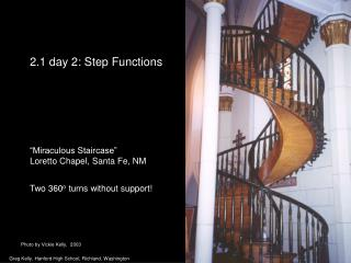 2.1 day 2: Step Functions