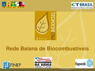 Rede Baiana de Biocombust�veis