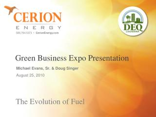 Green Business Expo Presentation