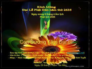 Kính Mừng  Đại Lễ Phật Đản năm thứ 2635