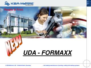 UDA - FORMAXX