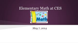 Elementary Math at CES