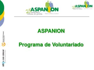 ASPANION Programa de Voluntariado