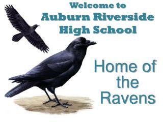 Welcome to Auburn Riverside High School