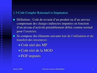 1.3-Co t Complet Rationnel et Imputation
