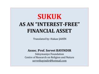 Definition of Sukuk