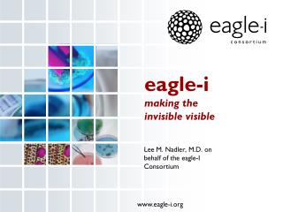 eagle-i making the  invisible visible