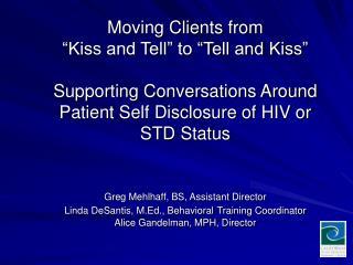 CA STD/HIV Prevention Training Center (CA PTC)