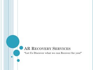 AR Recovery Services