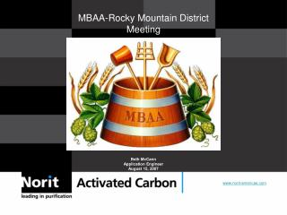MBAA-Rocky Mountain District Meeting