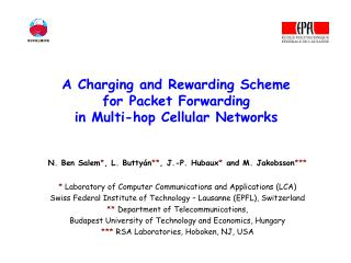 A Charging and Rewarding Scheme  for Packet Forwarding  in Multi-hop Cellular Networks
