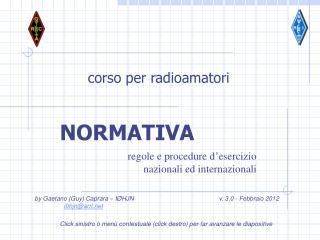 corso per radioamatori