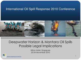 International Oil Spill Response 2010 Conference
