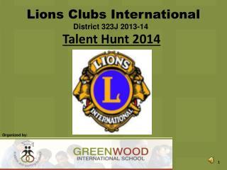 Talent Hunt 2014