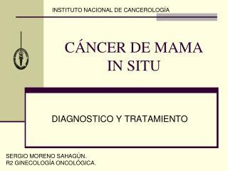 CÁNCER DE MAMA IN SITU
