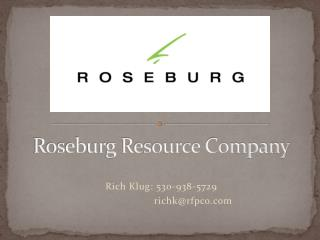 Roseburg Resource Company