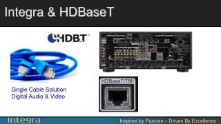 Integra & HDBaseT