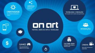 Festival  On Art  –  União de Arte e Tecnologia