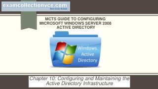 70-640  Windows Server 2008 Active Directory