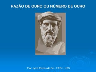 Prof. Ilydio Pereira de S� � UERJ - USS