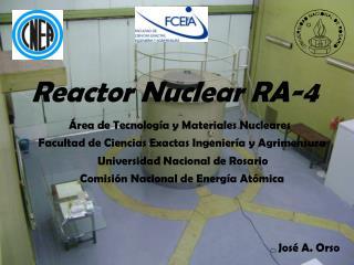 Reactor Nuclear RA-4