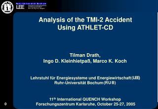 Tilman Drath, Ingo D. Kleinhietpaß, Marco K. Koch