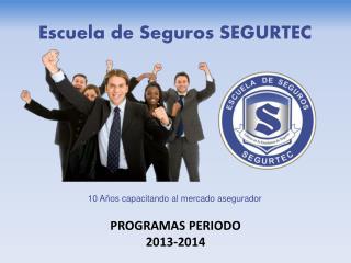 PROGRAMAS PERIODO 2013-2014
