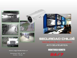Monitoreo de Cámaras de Seguridad  por Internet 24/7