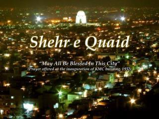 Shehr  e  Quaid