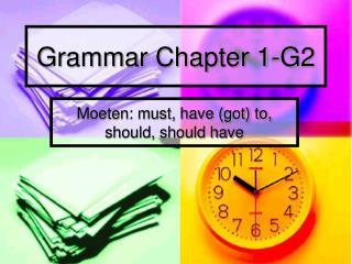 Grammar Chapter 1-G2
