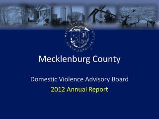 Mecklenburg County