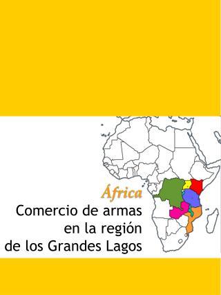 África  Comercio de armas en la región de los Grandes Lagos