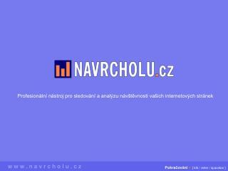 Profesionální nástroj pro sledování a analýzu návštěvnosti vašich internetových stránek