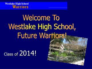 Class of  2014!