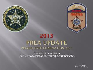 PREA UPDATE PRISON RAPE ELIMINATION ACT