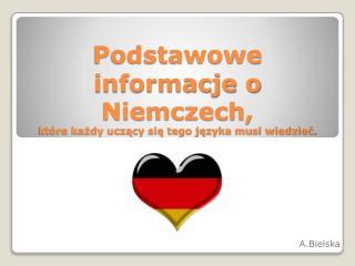 Podstawowe informacje o Niemczech, które każdy uczący się tego języka musi wiedzieć.