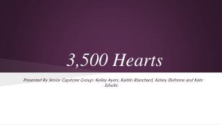 3,500 Hearts