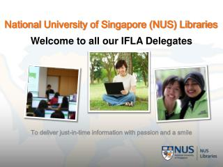 National  University of Singapore (NUS) Libraries