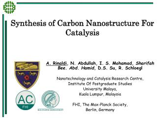 Synthesis of Carbon Nanostructure For Catalysis