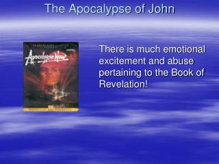 The Apocalypse of John