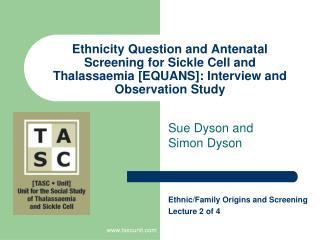 Sue Dyson and Simon Dyson