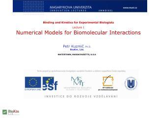 Petr Kuzmič , Ph.D. BioKin, Ltd. WATERTOWN, MASSACHUSETTS, U.S.A.