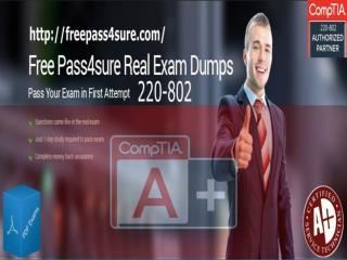 CompTIA A  220-802 Practice Test