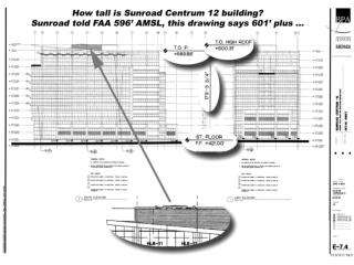 Sunroad Centrum 12 , 14, 16 Hazard to Air Navigation