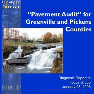 """Pavement Audit"" for Greenville and Pickens Counties"